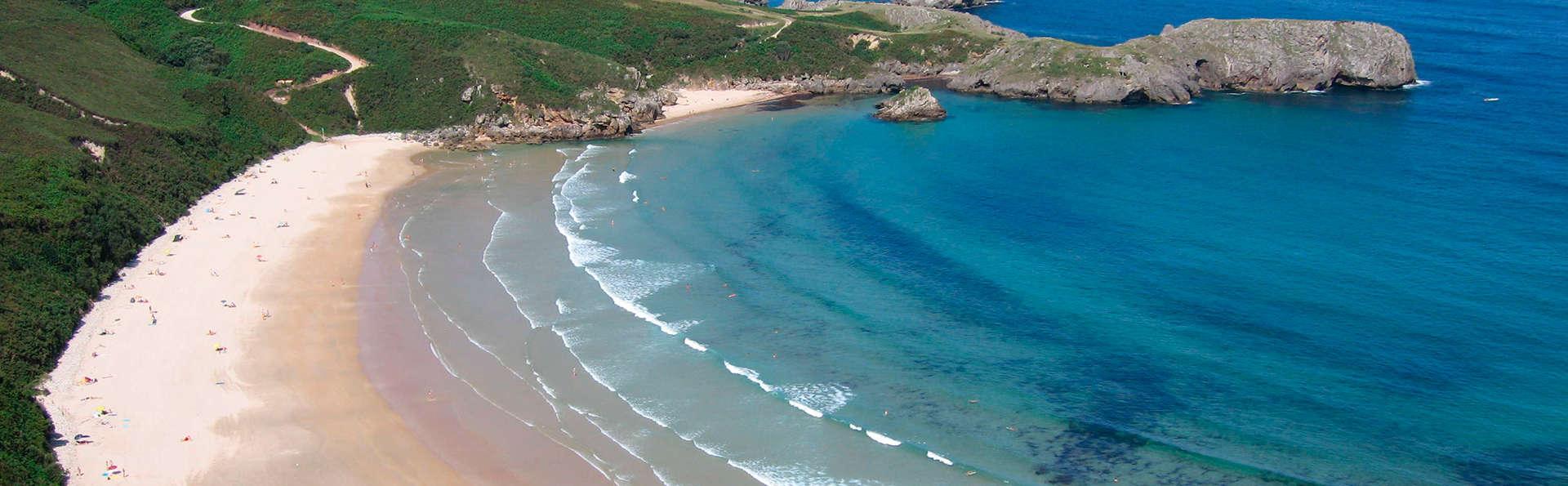 Escapada en Asturias divisando la playa de Barro