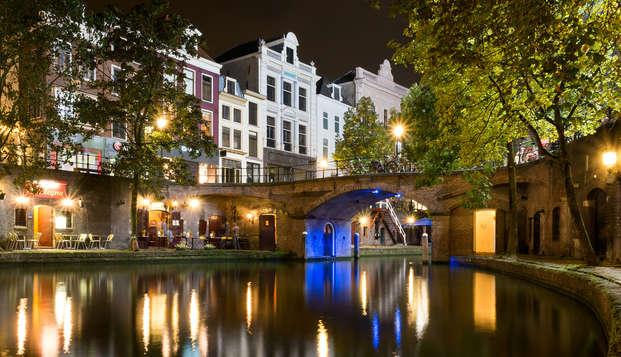 Citytrip naar historisch Utrecht in prachtig hotel