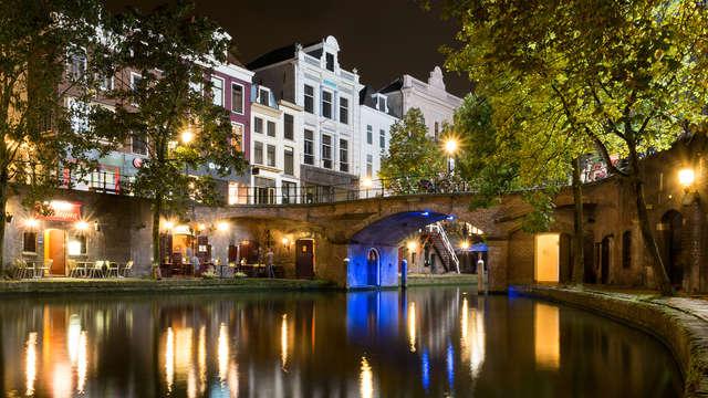 City-trip à Utrecht dans un bel hôtel historique