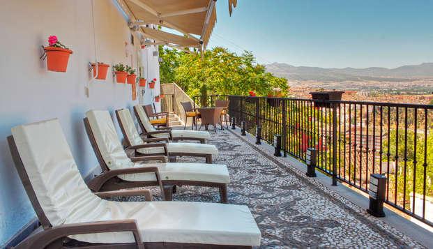 Hotel Mirador Arabeluj - terrace