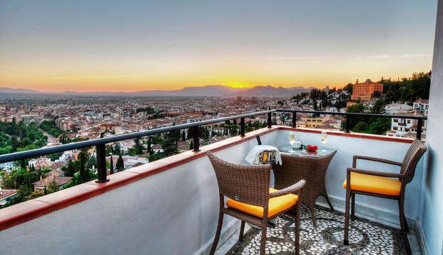 Escápate a Granada: cocktail en Terraza con increíbles vistas