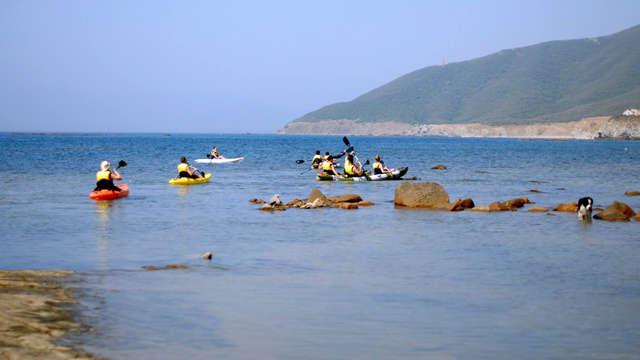 Escapada con Canoa o Kayak en la Playa de Getares, Cádiz