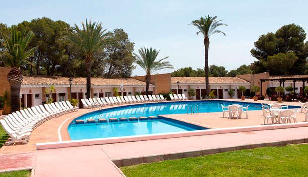 Petites vacances près de Torrevieja en demi-pension (à partir de 3 nuits)