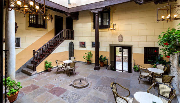 Escapada con encanto y tapa de bienvenida en un palacio del s.XVII de Granada