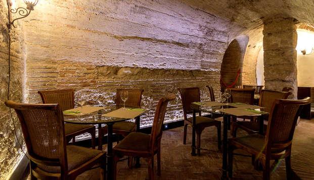 Hotel Museo Palacio de Mariana Pineda - Restaurant