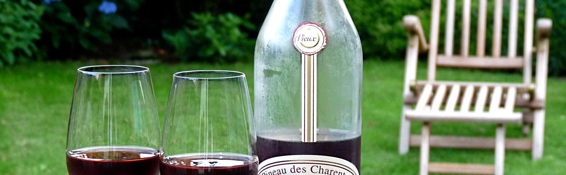 Week-end romantique avec champagne près de Royan