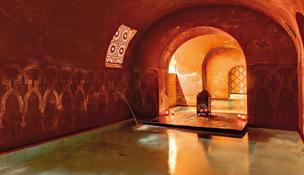 Week-end romantique dans un appartement avec entrée aux bains arabes de Cordoue