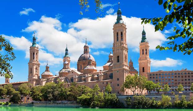 Descubre la ciudad de Zaragoza a tu aire en hotel céntrico
