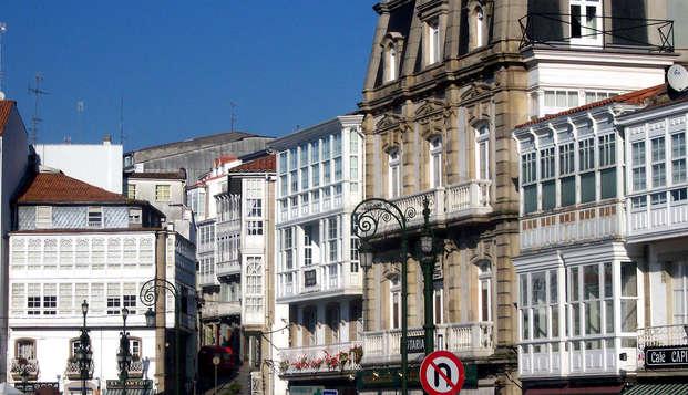 Escapada con detalle de bienvenida y cena en Galicia (desde 2 noches)