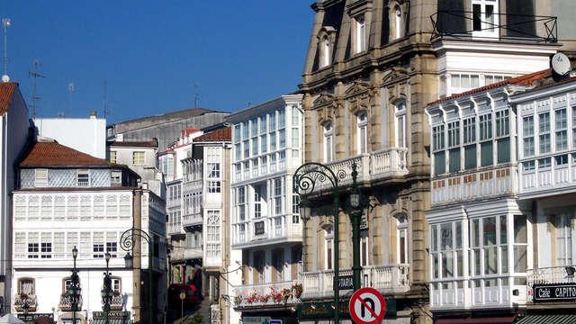 Séjour avec cadeau de bienvenue et dîner en Galice (à partir de 2 nuits)