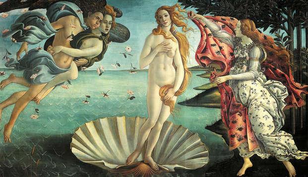 Una notte a 4* nel centro di Firenze con tour guidato alla Galleria degli Uffizi!