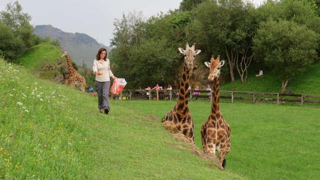 1 Entrada para el Parque de animales de Cabárceno