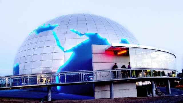 Week-end découverte à la cité de l'espace avec accès Spa