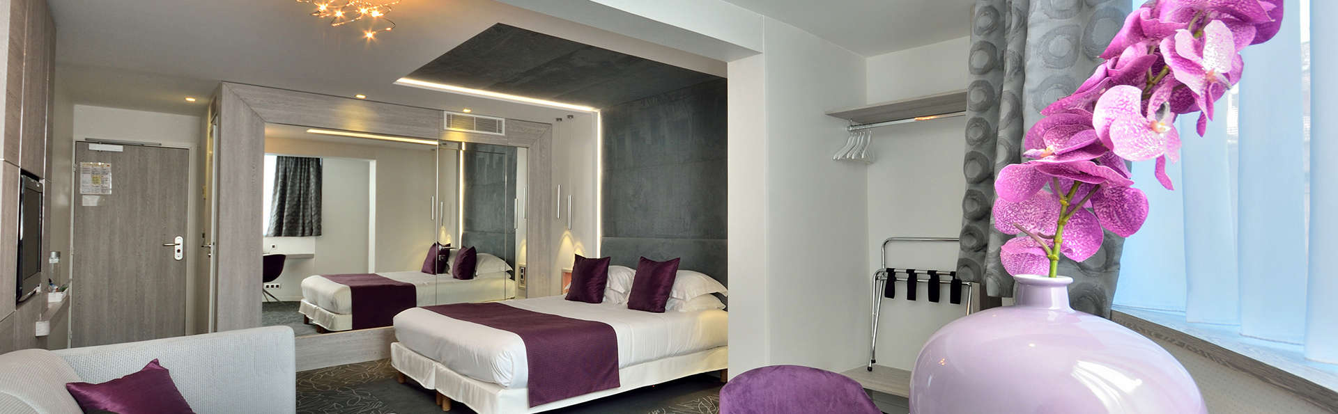 C zanne h tel spa 4 cannes france for Reservation hotel paca