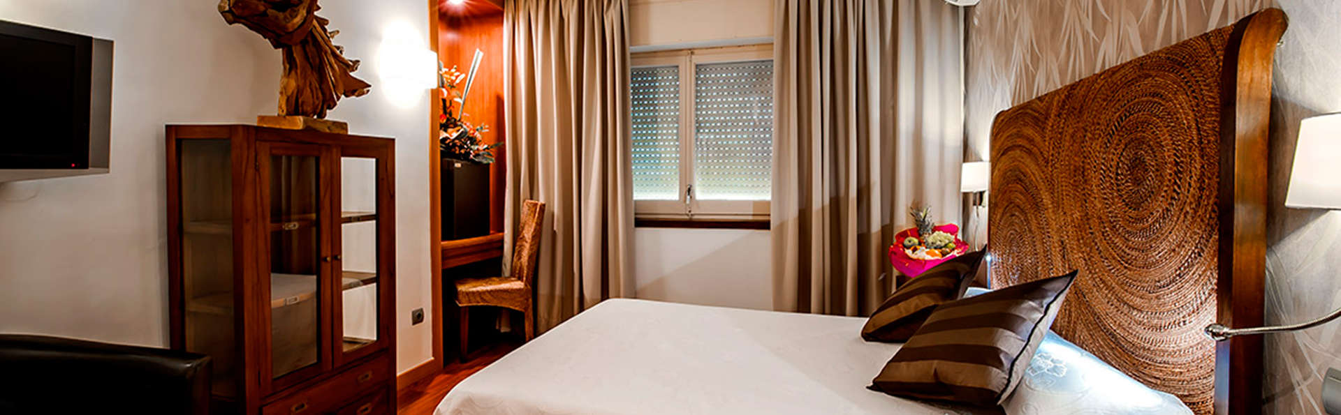 Relax en privado con jacuzzi en la habitación y mejora de categoría garantizada en Figueres