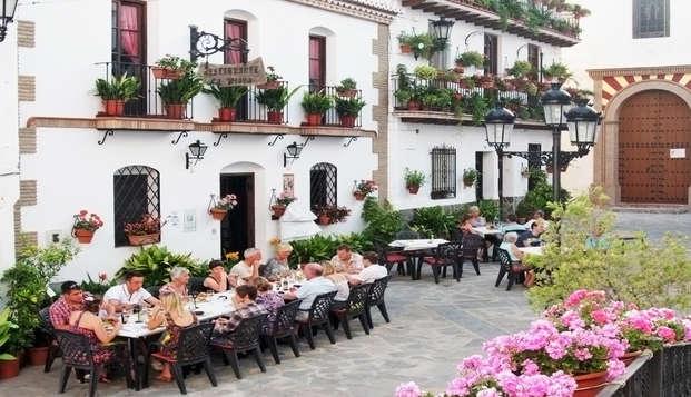 Spécial réduction avec menu de dégustation de la cuisine andalouse à Albaida, Málaga