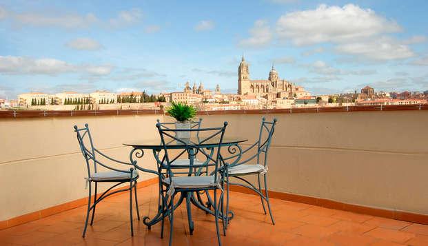 Descubre Salamanca alojándote en un exclusivo y céntrico hotel