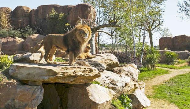 Partez en famille à Blois avec entrées au Zoo de Beauval