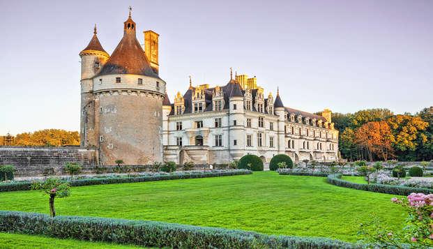 Confort 4 étoiles et visite du Château de Chenonceau