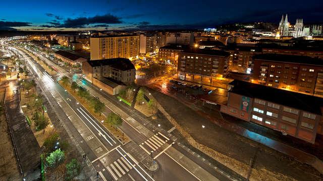 Escapada en un exclusivo hotel en el centro de Burgos con desayuno incluido