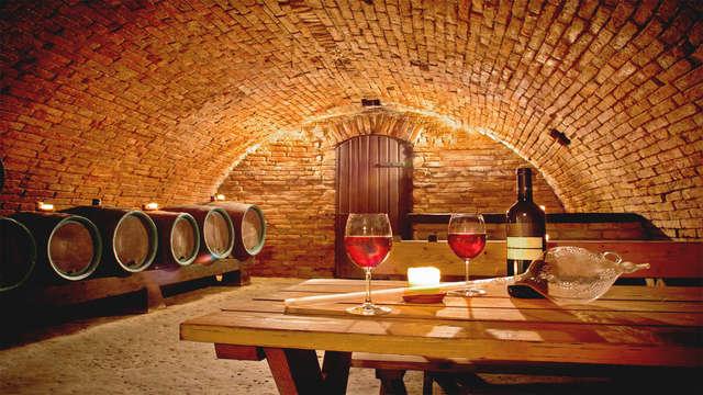 Gastronomía y vino: Escapada con visita a 2 bodegas, cata y almuerzo maridaje (desde 2 noches)