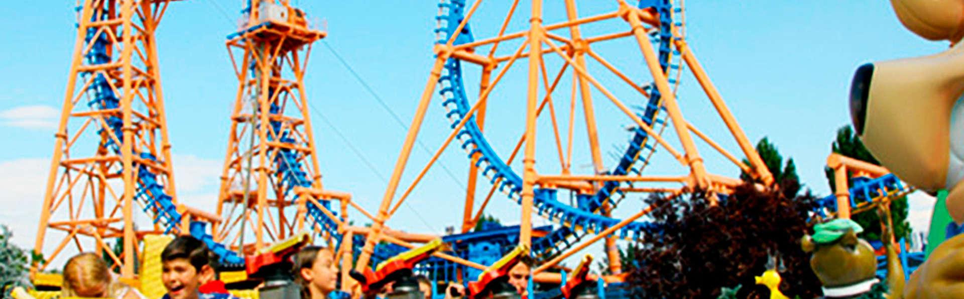 ¡Adrenalina en estado puro! Entradas al Parque Warner y hotel a 20 minutos en Fuenlabrada
