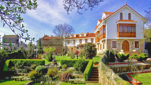 Escapada con Cena y toque romántico en un hotel del s.XVIII rodeado de jardines y terrazas