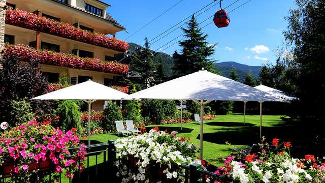 Evasión al estilo Alpino con media pensión en La Massana