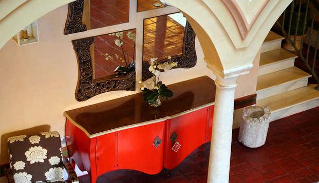 Hotel Sacristia de Santa Ana - Patio