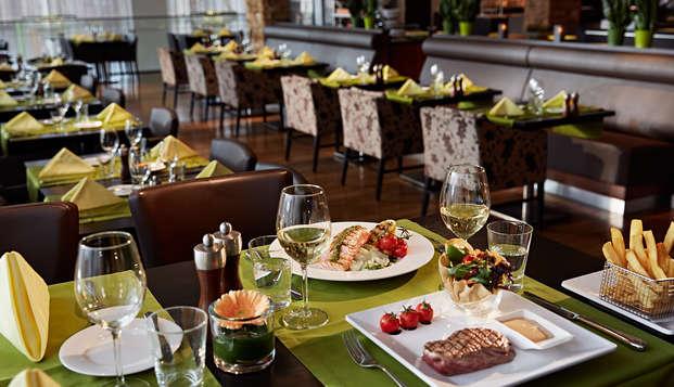 Dineren en ontspannen in luxe in hartje Antwerpen
