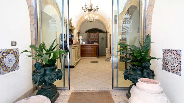 Encanto en una deluxe de un antiguo palazzo del siglo XVI en Taranto