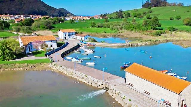 Escapade avec visite d'une conserverie d'anchois à Santoña (à partir de 2 nuits)