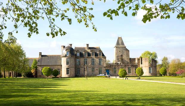 Charme et vie de château près de Fougères