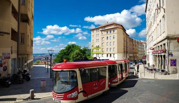 Découverte de la ville de Lyon avec promenade en petit train