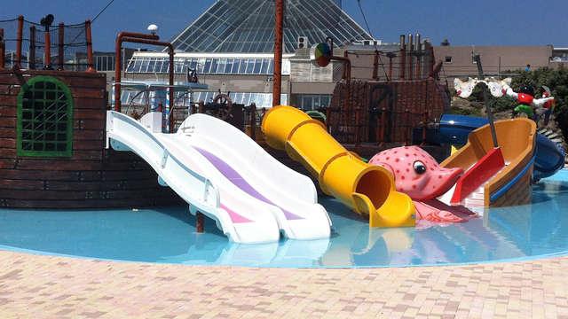 Séjour familial avec entrée au Parc Aquatique Aqualud