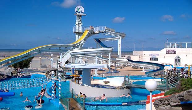 Entrée au parc aquatique Aqualud et séjour près du Touquet