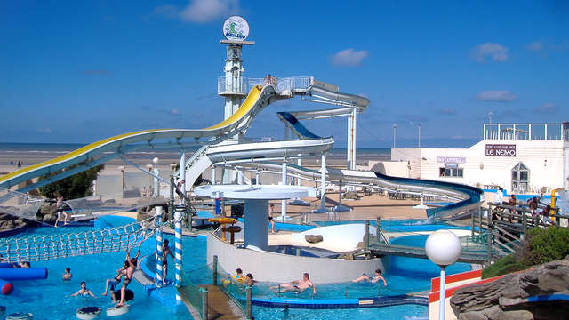 Week-end sur la Côte d'Opale avec entrée au Parc Aquatique Aqualud