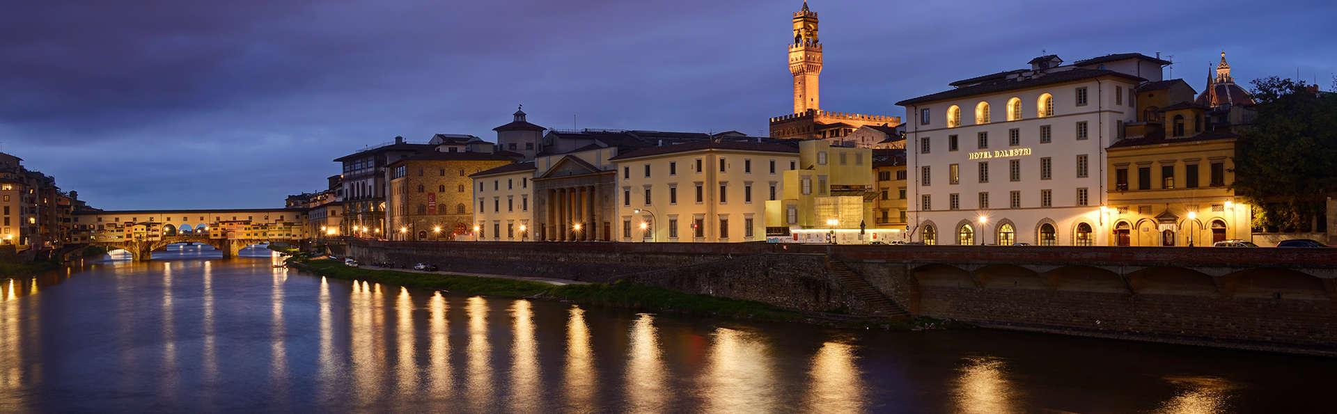 Sur les rives du fleuve Arno au coeur de Florence