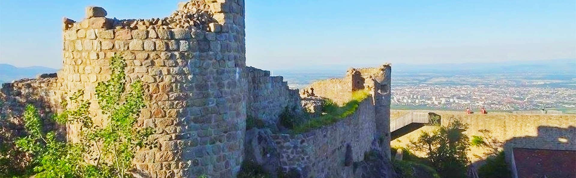 Week-end près de Colmar avec entrées au Château Médiéval de Hohlandsbourg