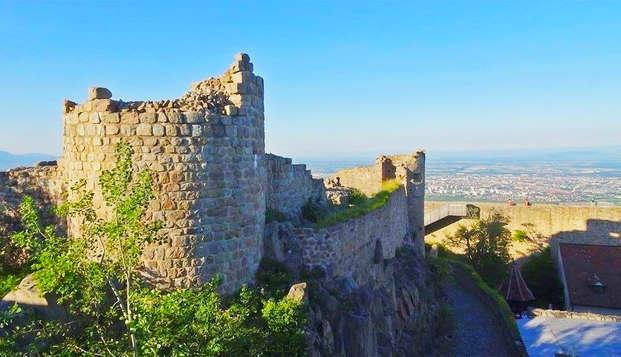 Week-end bien être avec entrées au Château Médiéval de Hohlandsbourg