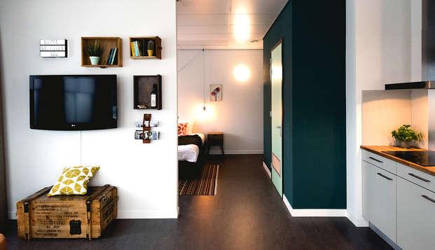 Séjournez dans un appartement spacieux à Nimègue