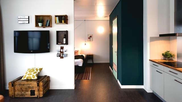 Heerlijke overnachting in een ruim appartement in Nijmegen