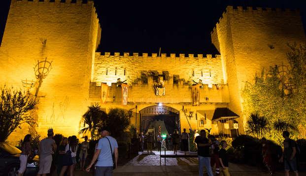Santa Susana con cena con espectáculo Medieval en un Castillo