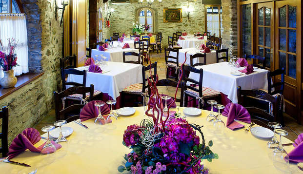 Escapada con cena típica en los Pirineos Atlánticos