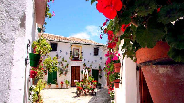 Week-end avec dîner typique à Priego de Córdoba en Andalousie
