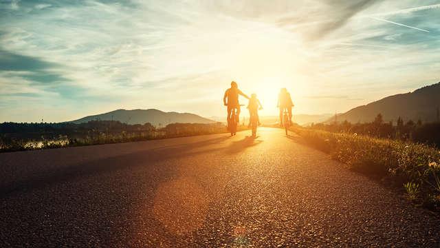 Pension completa ý actividades para la familia en Arnés