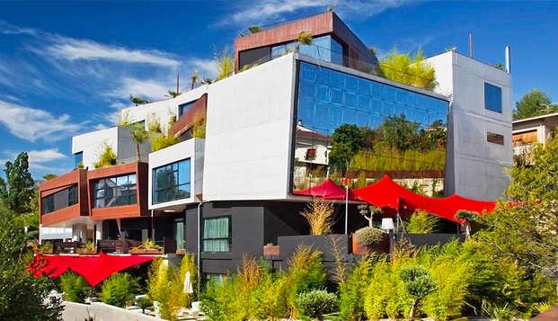 Hoteles inolvidables: Escapada en habitación deluxe en Villabuena de Álava