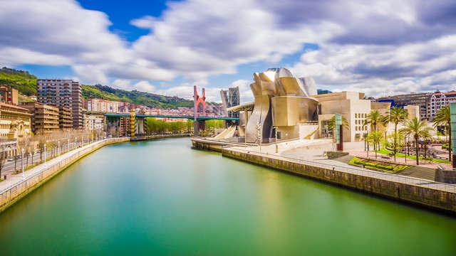 Escapada cultural a Bilbao con visita al Museo Guggenheim