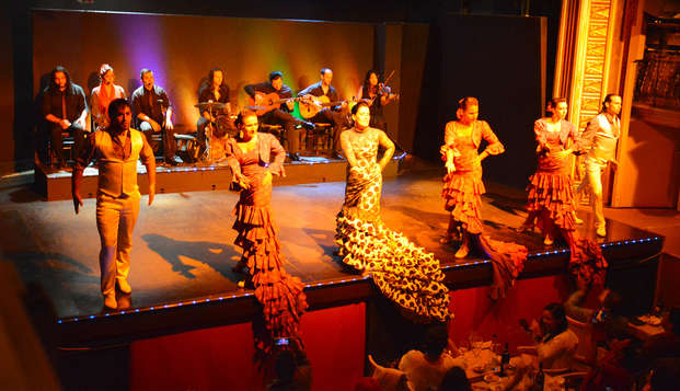 Escapada en Barcelona con entradas a palacio del flamenco
