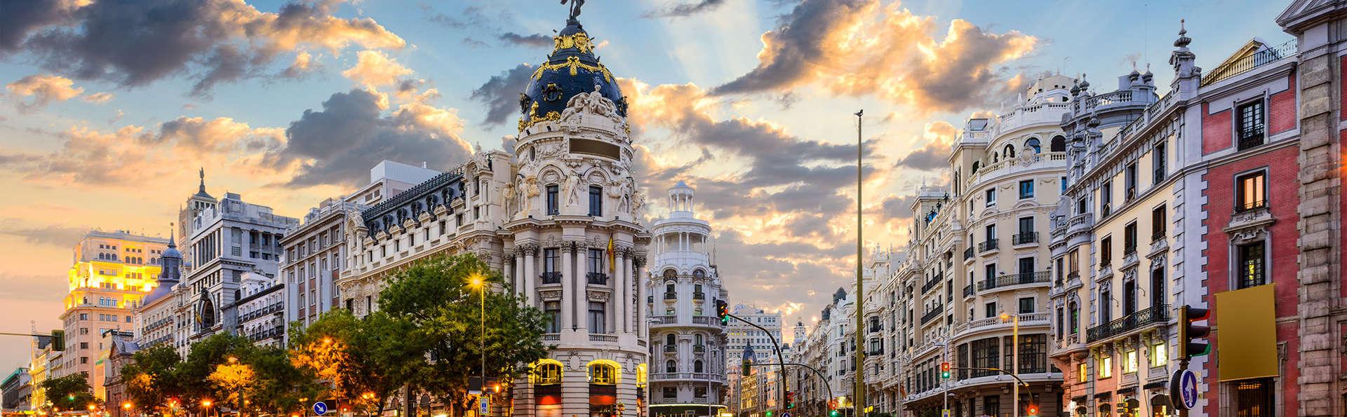Week-end romantique avec bouteille de cava à Madrid